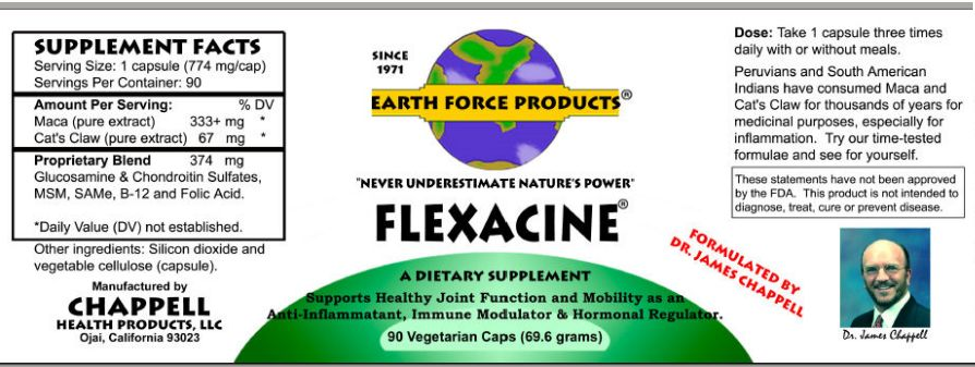 Flexacine Label